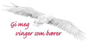 Logo Gi meg vinger som bærer.
