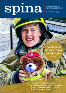 Forsiden til medlemsbladet Spina nr. 2 2020