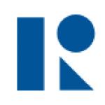 Foreningens logo. Stor blå R