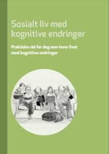 Forsiden til brosjyren Sosialt liv med kognitive endringer